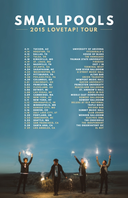 Smallpools tour flyer