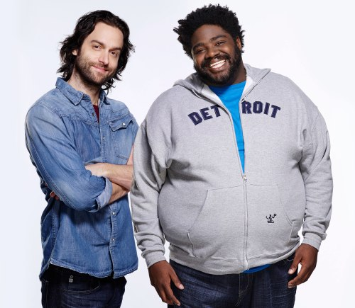 The guy on the right is Ron Funches. Silly bear.